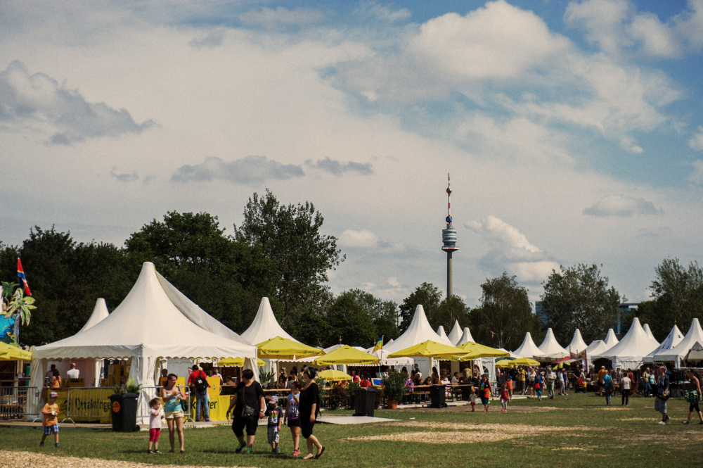 africa, afrika tage, vienna, austria, donauinsel, photos and the city