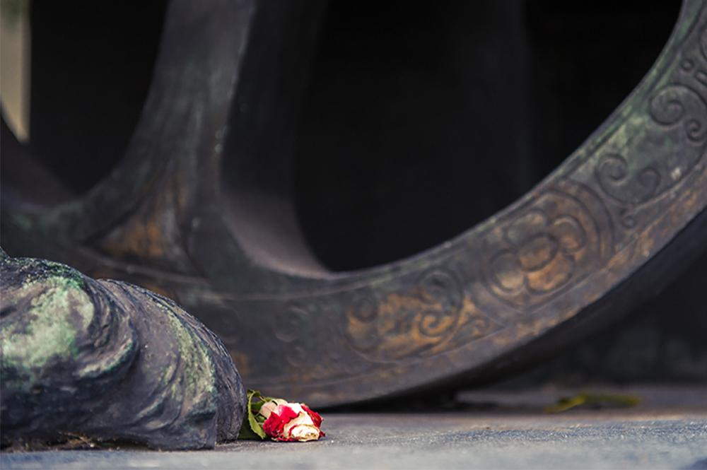 monument, secession, rose