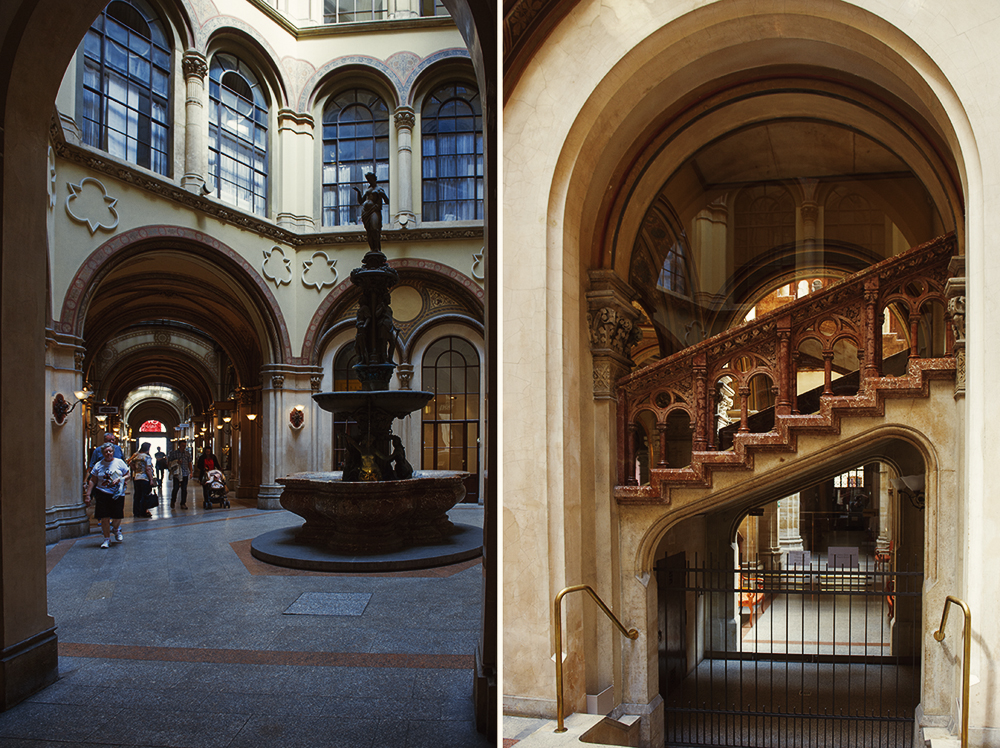 palais ferstel, vienna, passage, first district, xocolat