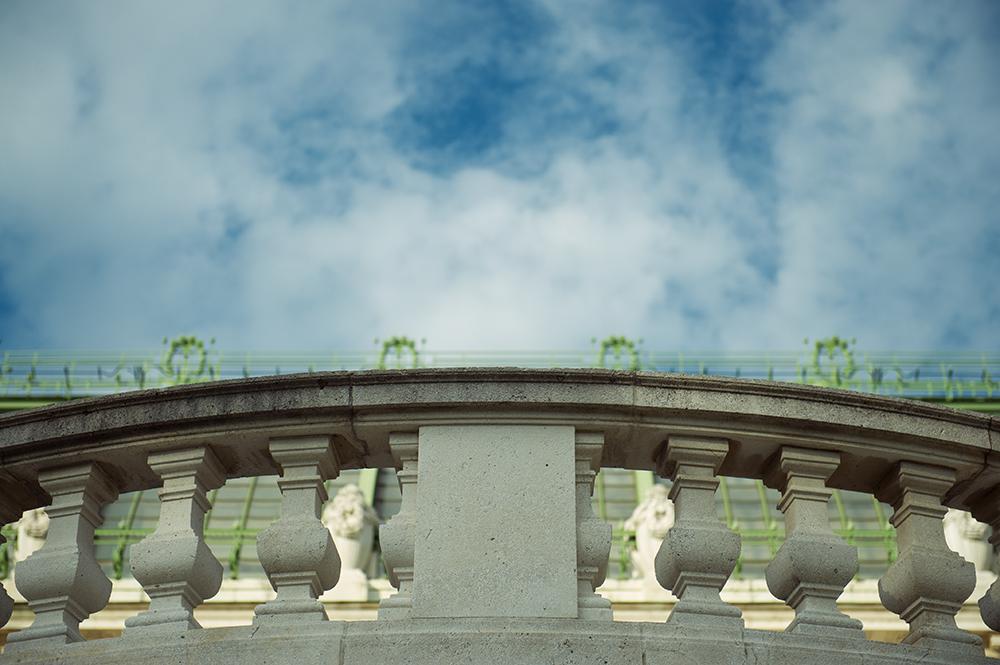 palmenhaus, vienna, sky, blue, kaiserwetter, vienna, austria