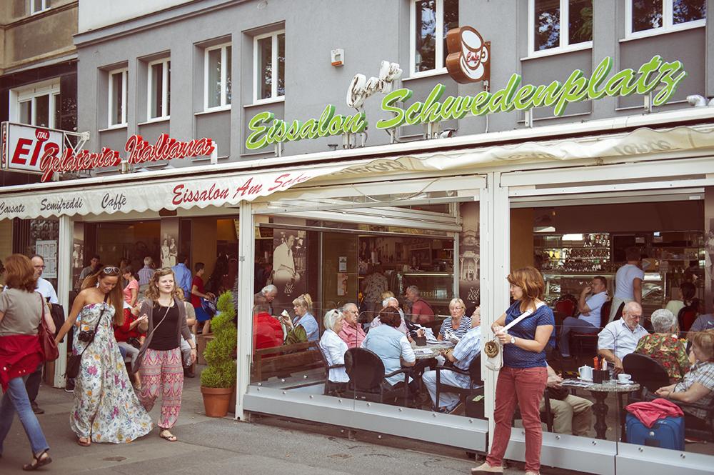 gelateria, isecream, vienna, schwedenplatzeis, mq, street