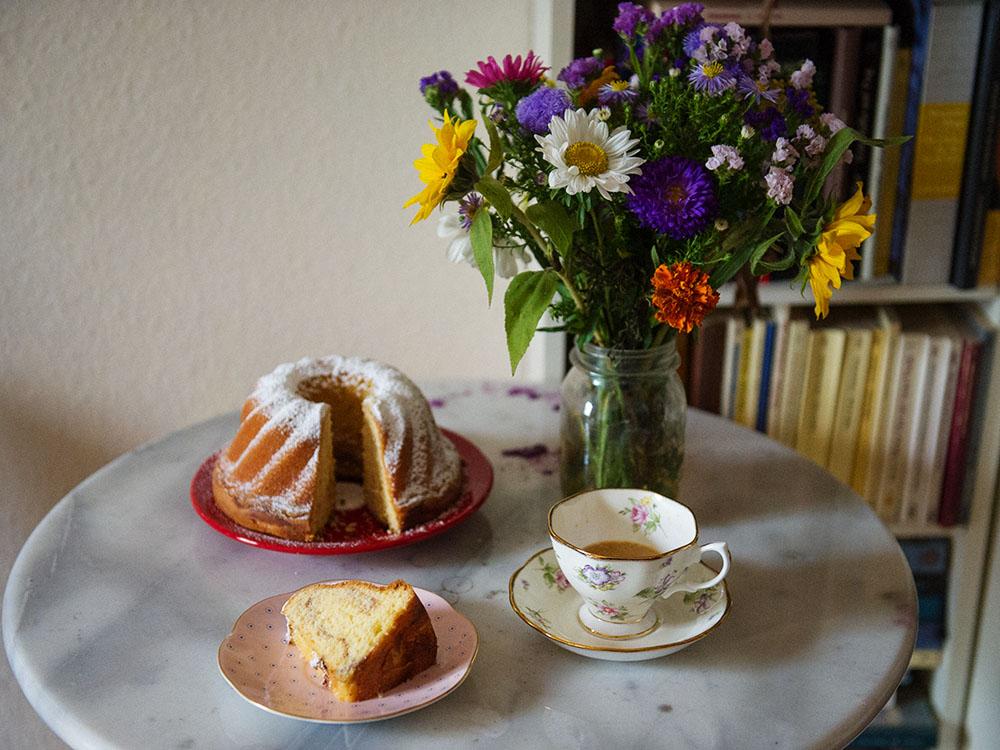 gugelhupf, sweet treat, kaffeejause