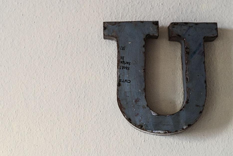 letter, typography, vintage, distressed