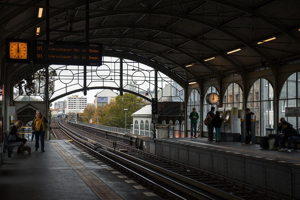 berlin, kreuzberg, görlitzer bahnhof, u bahn