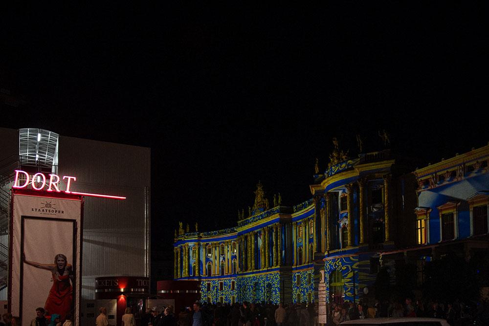 berlin, festival of lights, dark, night, event, autumn,