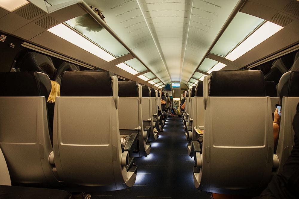 westbahn, train, riding, linz, vienna