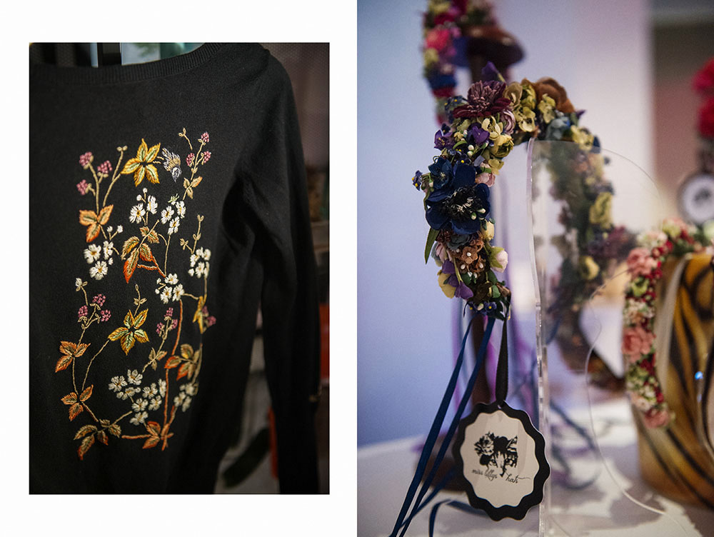 miss lillys hats, flower crowns, vintage, niki osl, diva boutique, vienna