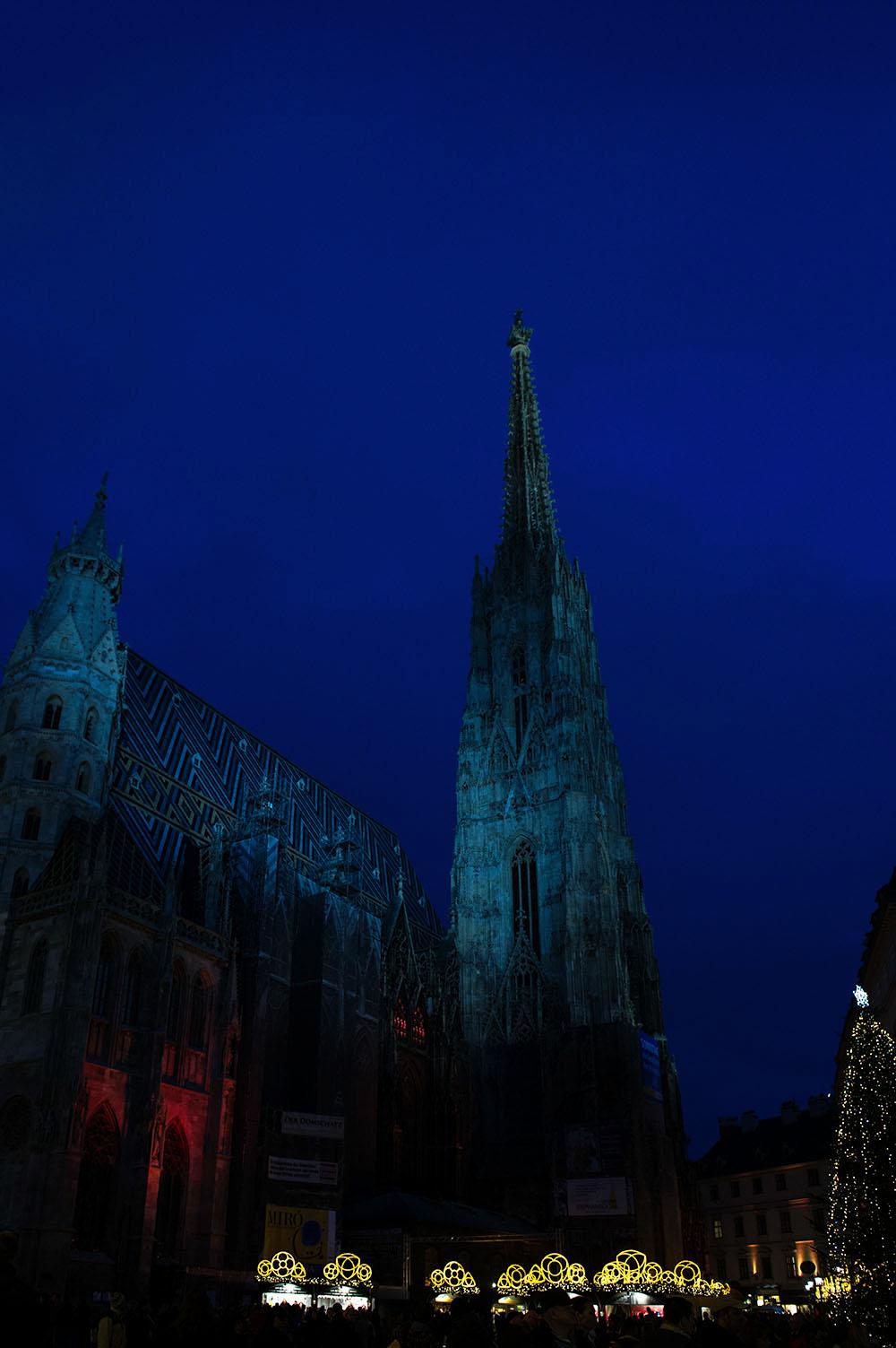 vienna, christmas, schristkindlmarkt, st. stephens, stephanplatz