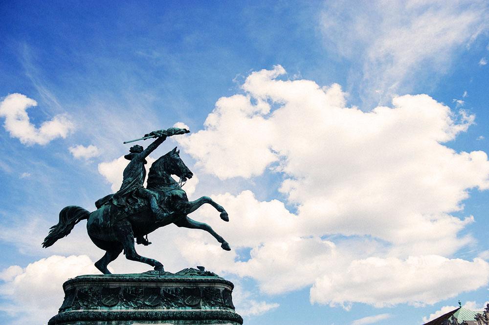 heldenplatz, 1010, vienna, blue sky,