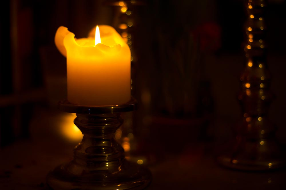 winter, advent, cozy, candle, light, at home