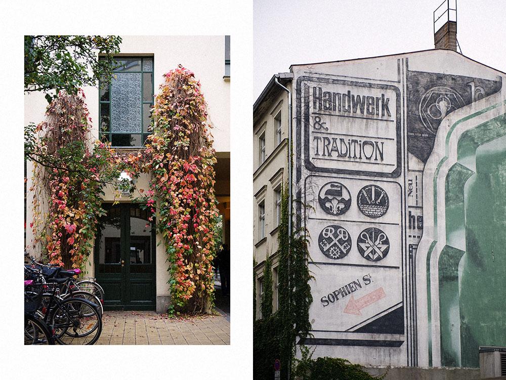 berlin, mitte, autumn, sophienhöfe, sophienstraße