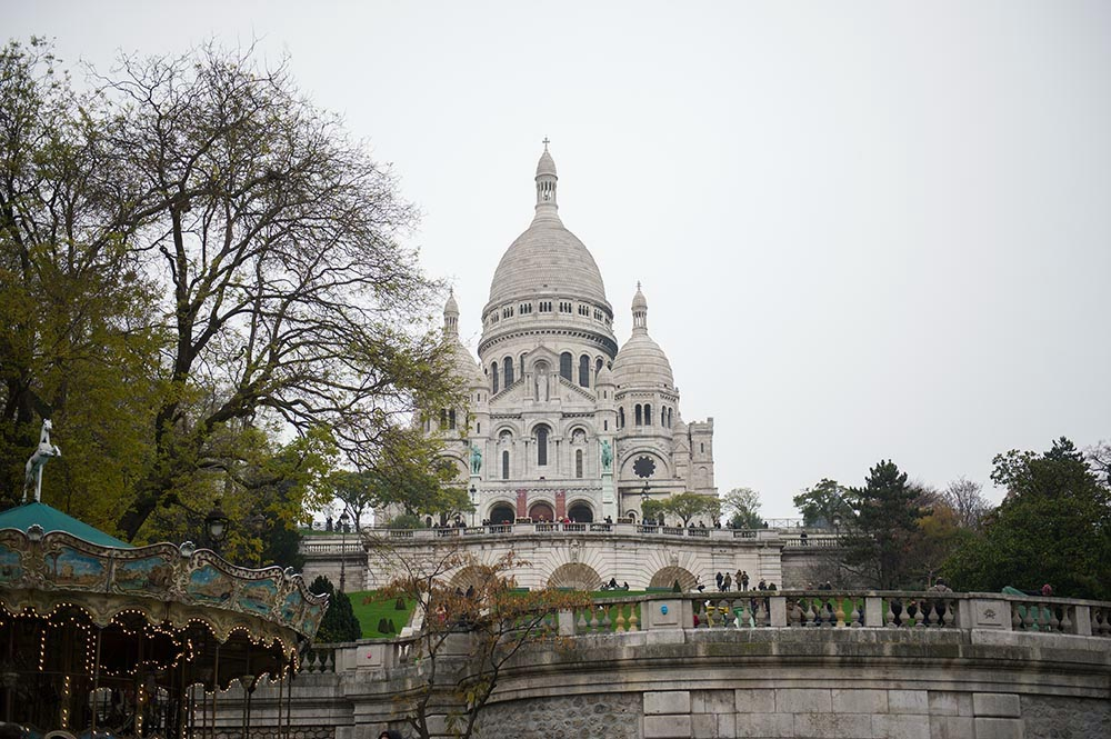 Paris, Montmatre, advent, winter, cute, sacre coeur