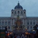 Weihnachtsdorf Maria Theresien Platz