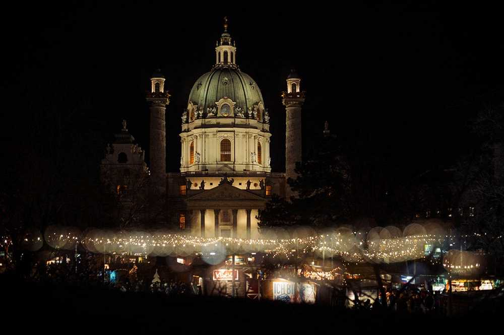karlsplatz, vienna, 1010, christmas, fair, lights, winter, advent