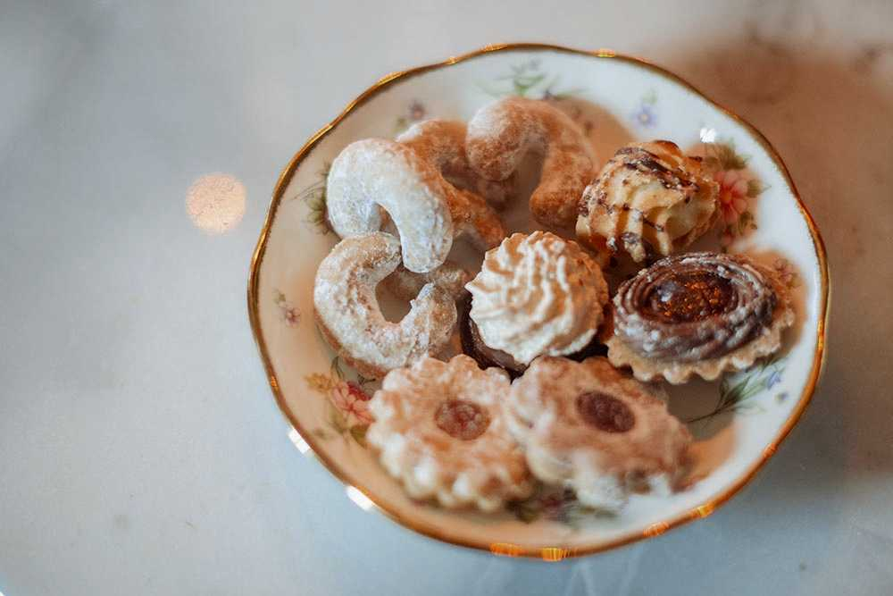 teatime, 5 o´clock, winter, xmas, ginger vanillekipferl