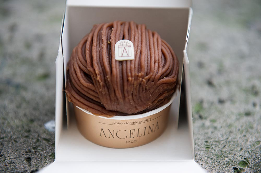 Mont-Blanc aux marrons, angelina, paris, delicous, patisserie, winter