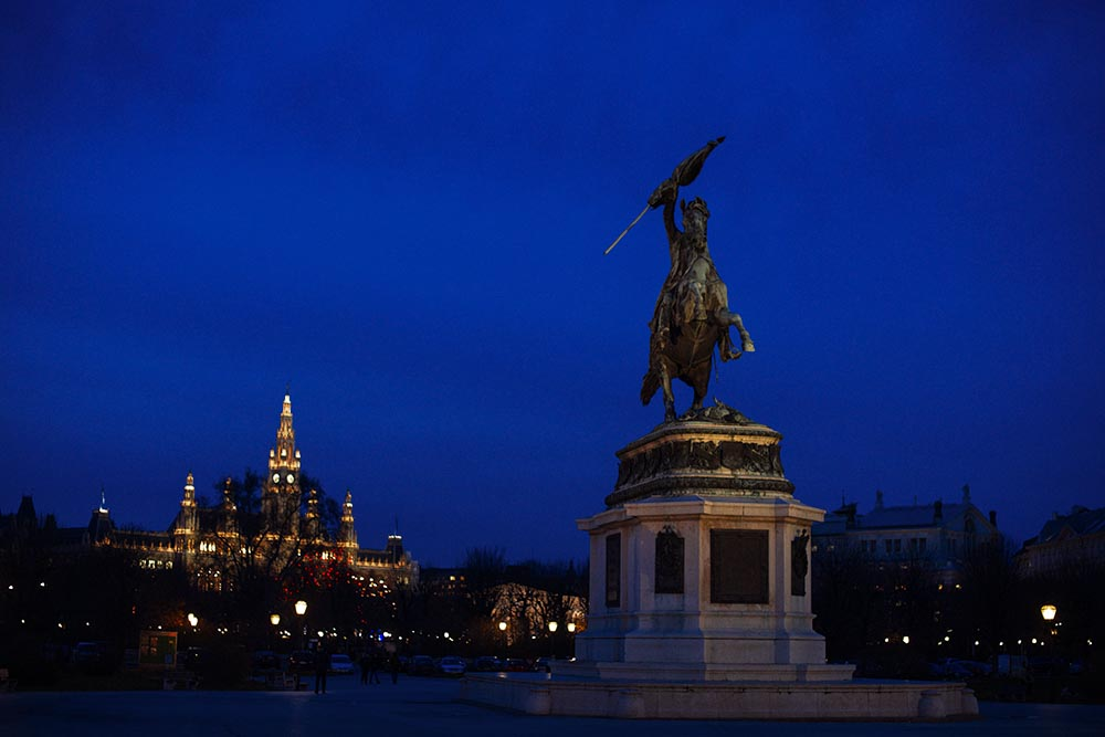 Heldenplatz, Vienna, Rathaus, X-Mas, Citylights, Advent, Christmas