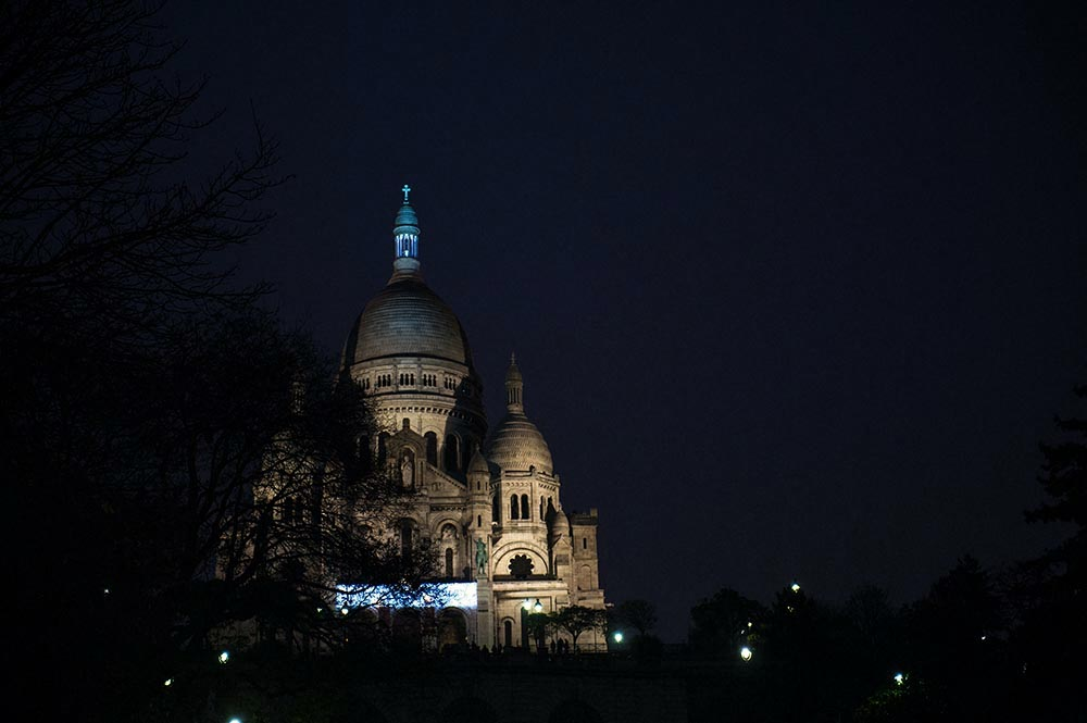 paris, winter, montmatre, sacre cuoeur