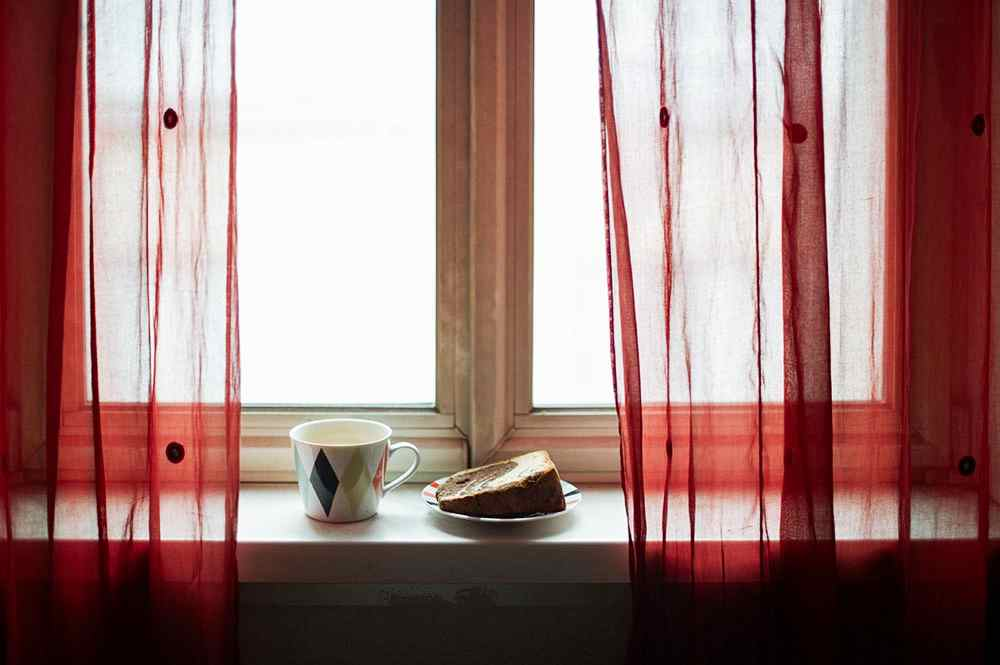 breakfast, red, winter, cold, red