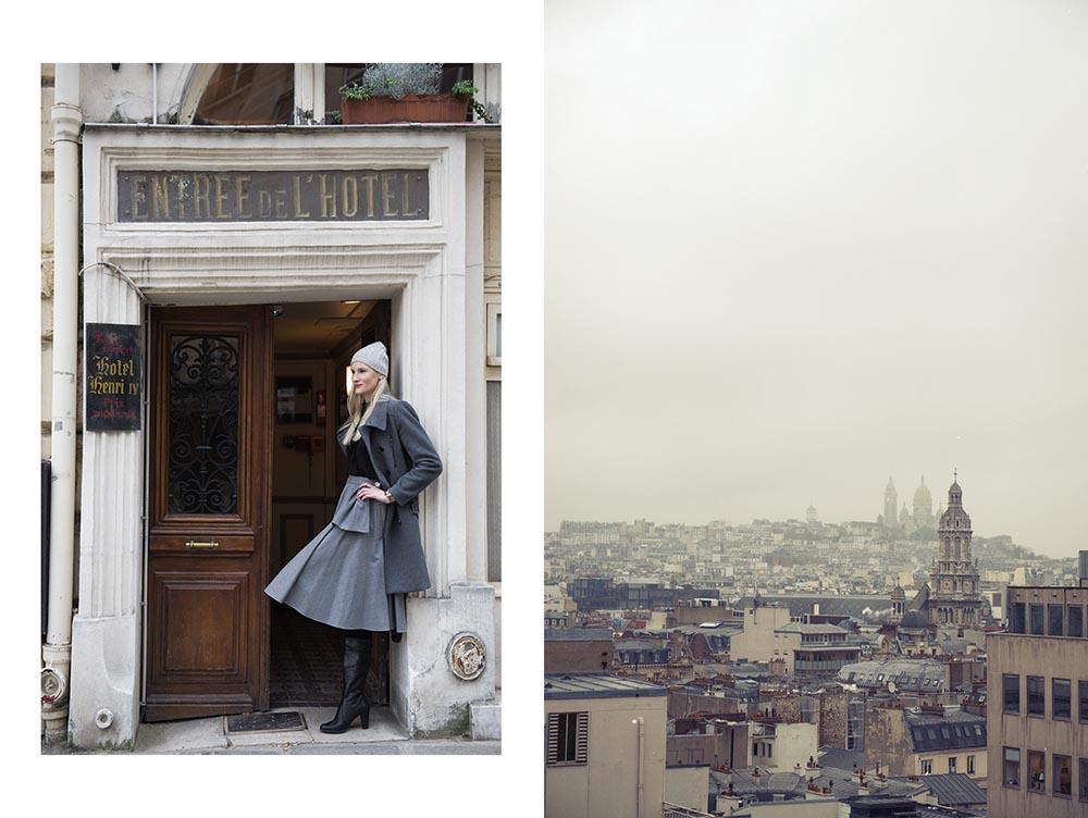 kyra, portrait, paris, winter, grey, cold, scare coeur