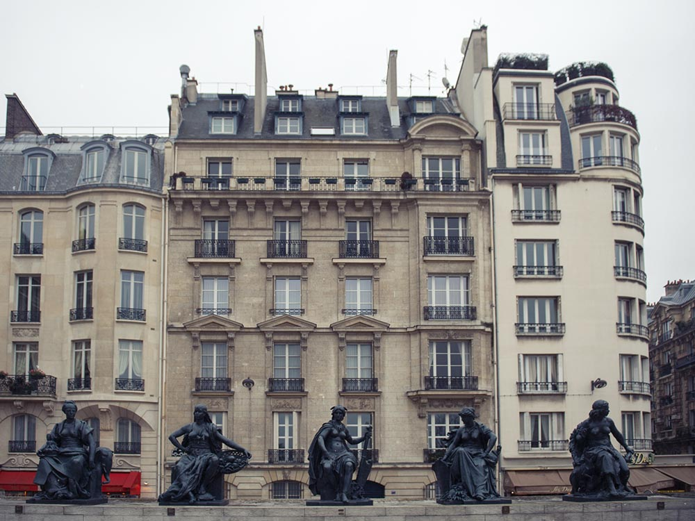 paris, winter, grey, cold, musee d´orsay