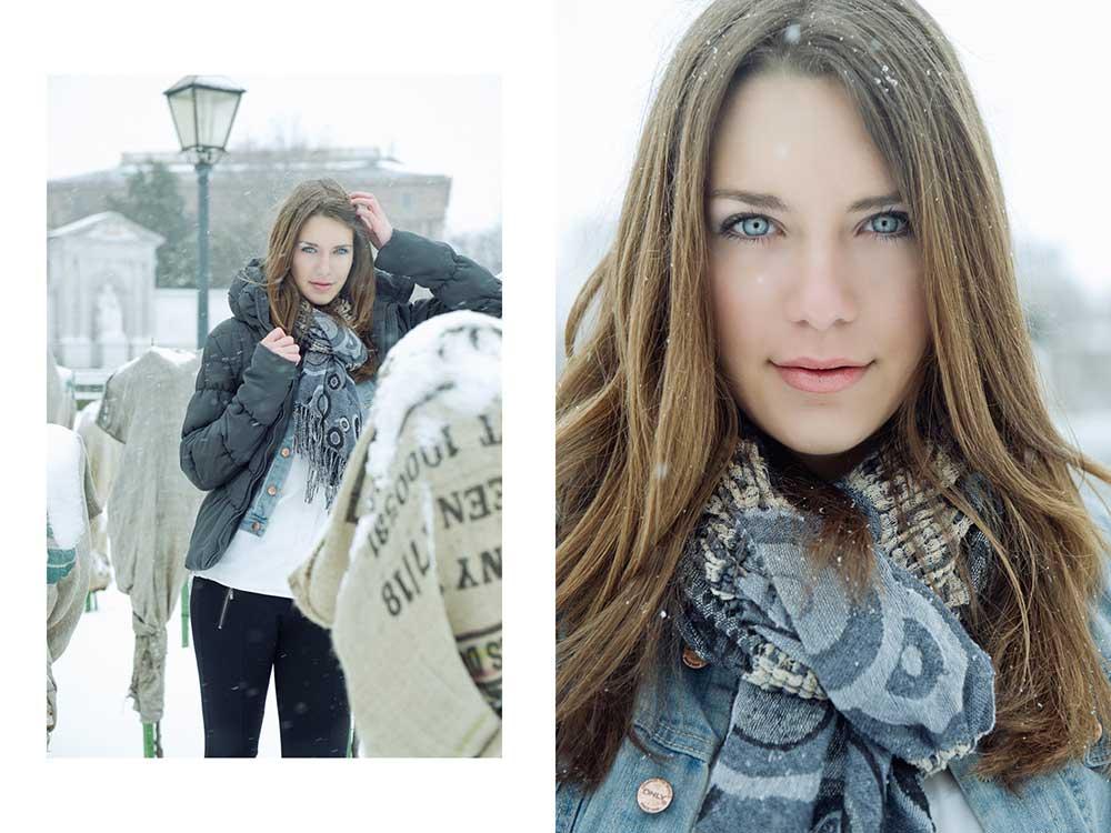 winter, portrait, selly, jademodels, girl, snow, cold, white, vienna