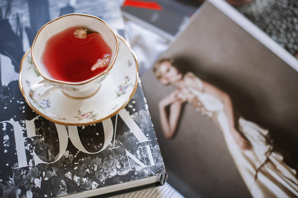 vogue, sunday morning, breakfast, bed, tea, book, love