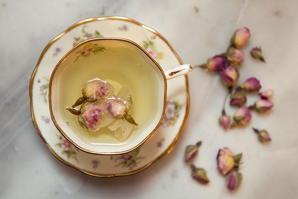 boutons de roses, roses, tea, rosebuds, teatime, cute, pretty