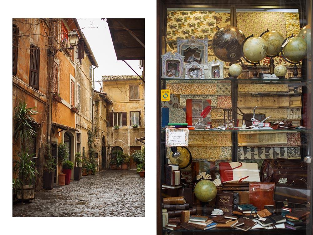rome, italy, spring, rain