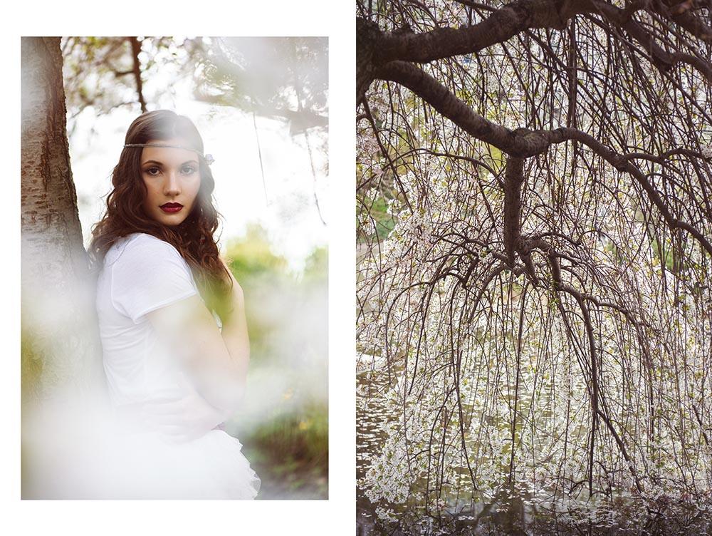 lena, bride, bridal, beauty, romance, gorgeous, girl, vienna, spring, cherry, blossom