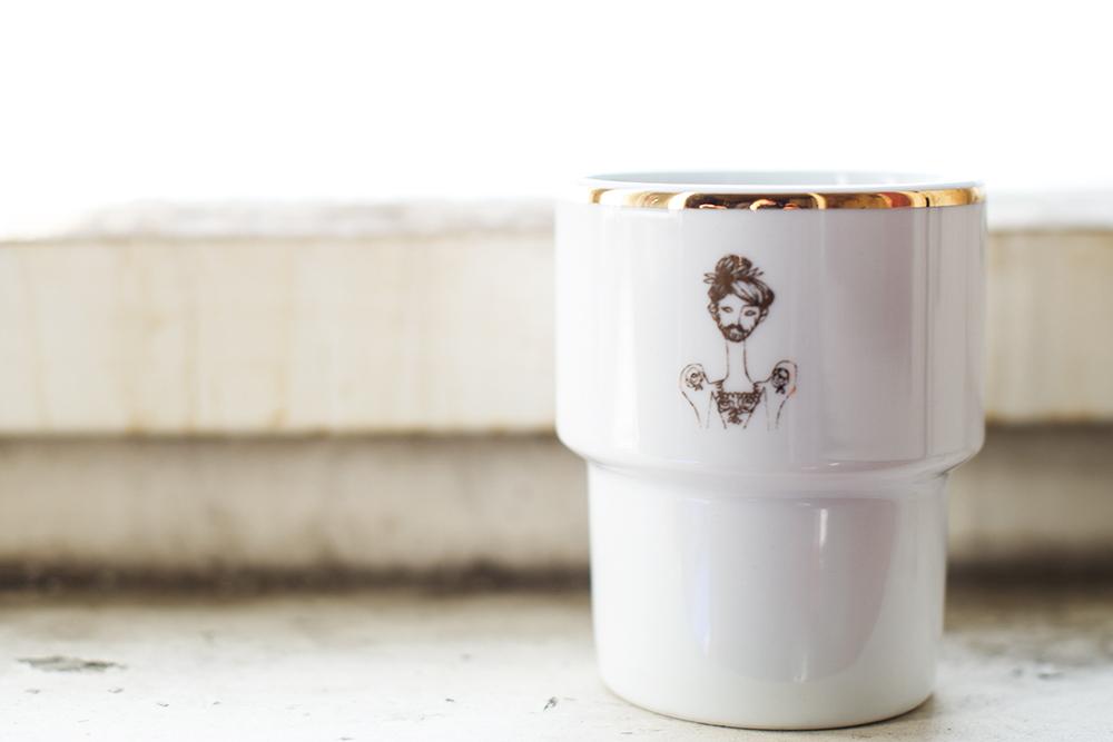 Vincent Moustache, mug, pride