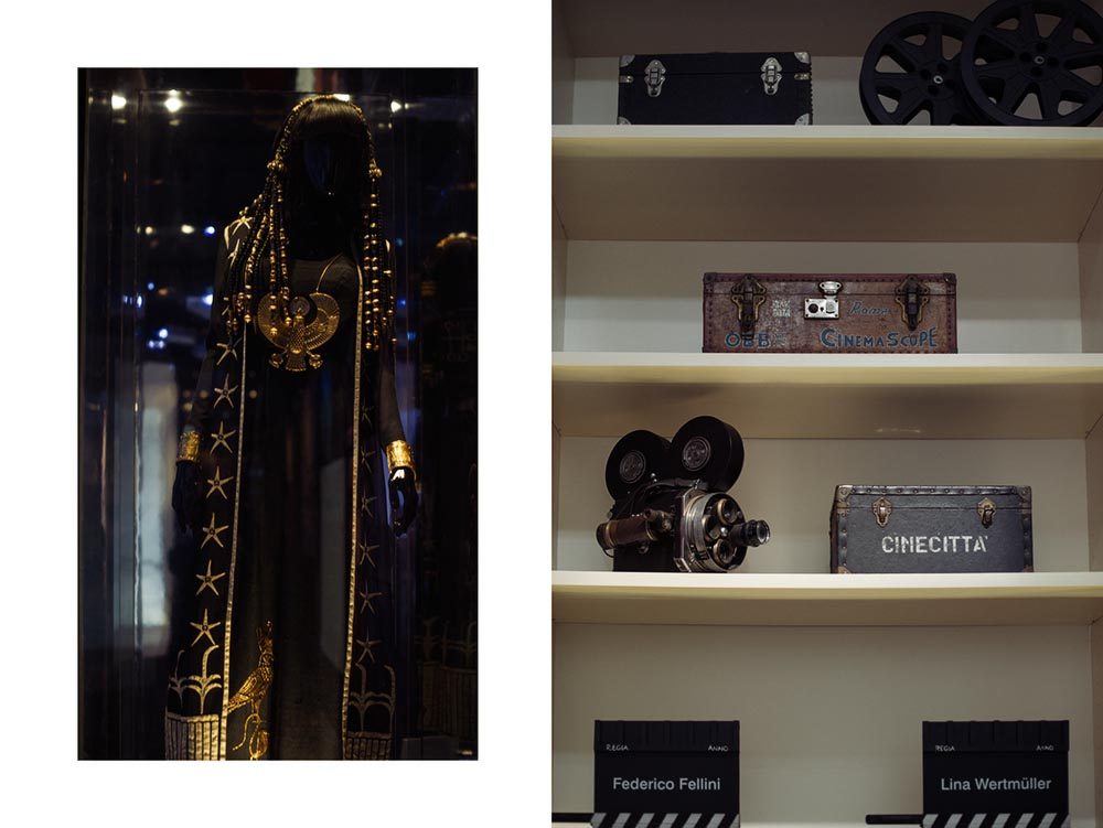 cinecitta, rome, italy, movie studio, film, set, exhibition, fellini