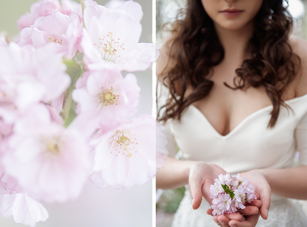 lena, bride, bridal, beauty, romance, gorgeous, girl, vienna, spring, cherry, blossom, irina hofer