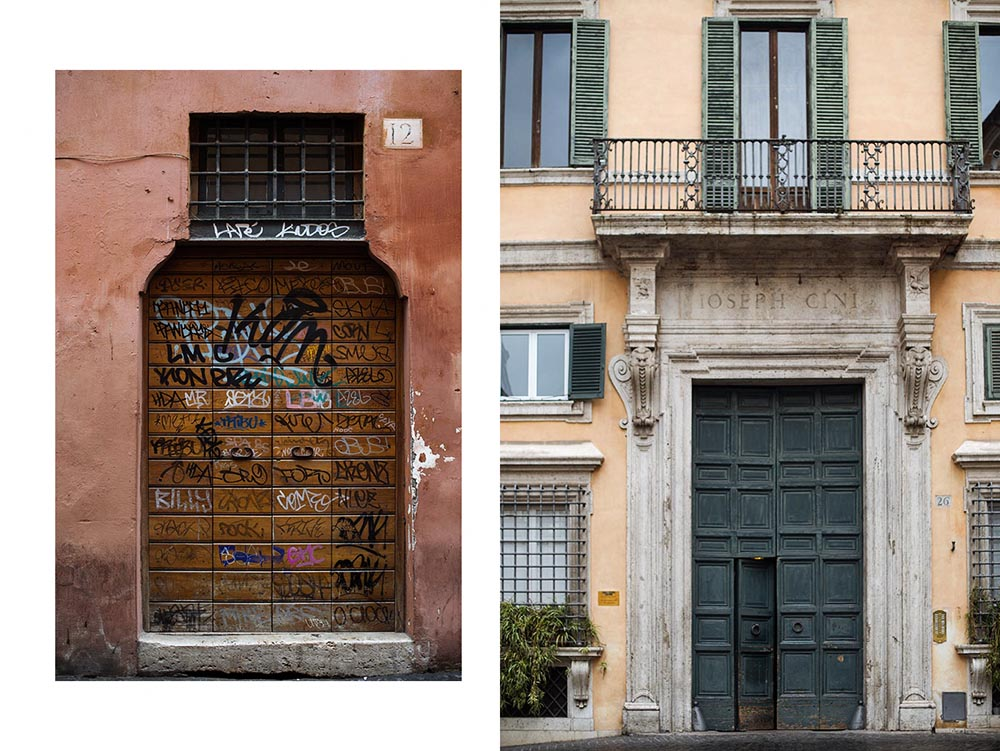 rome, italy, spring, doors, vintage, shabby, beautiful