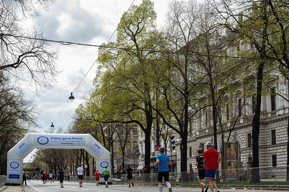 vienna city marathon, vienna, spring, april
