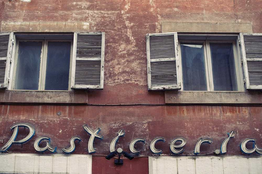 rome, italy, blue, red, city, typography