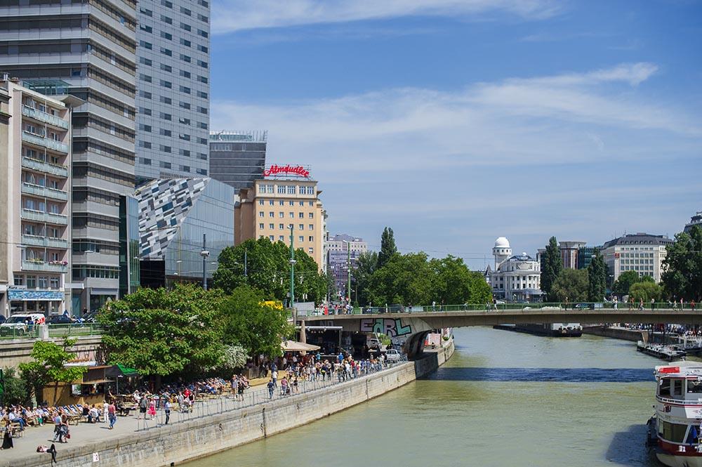 donaukanal, donaukanaltreiben, marienbrücke, summer, festival