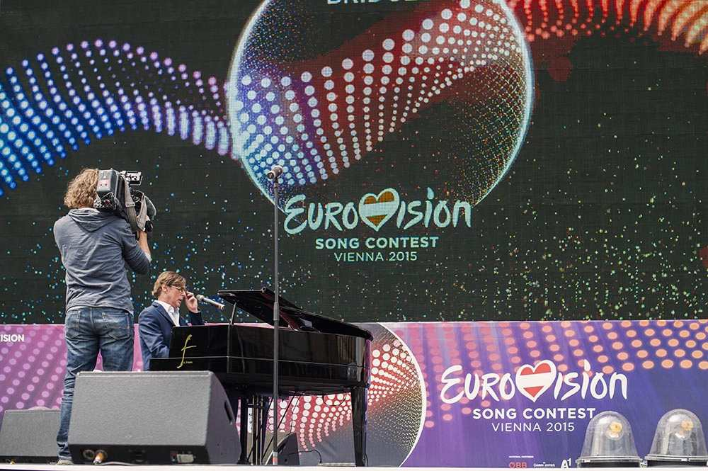 esc, vienna, eurovision, rathausplatz, eurovision village, 2015, udo jürgens tribute