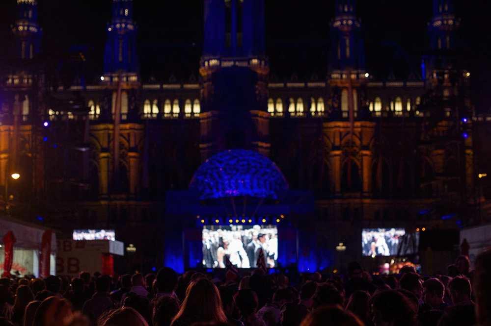 esc, eurovision village, vienna, rathausplatz, 1010, public viewing, semifinal