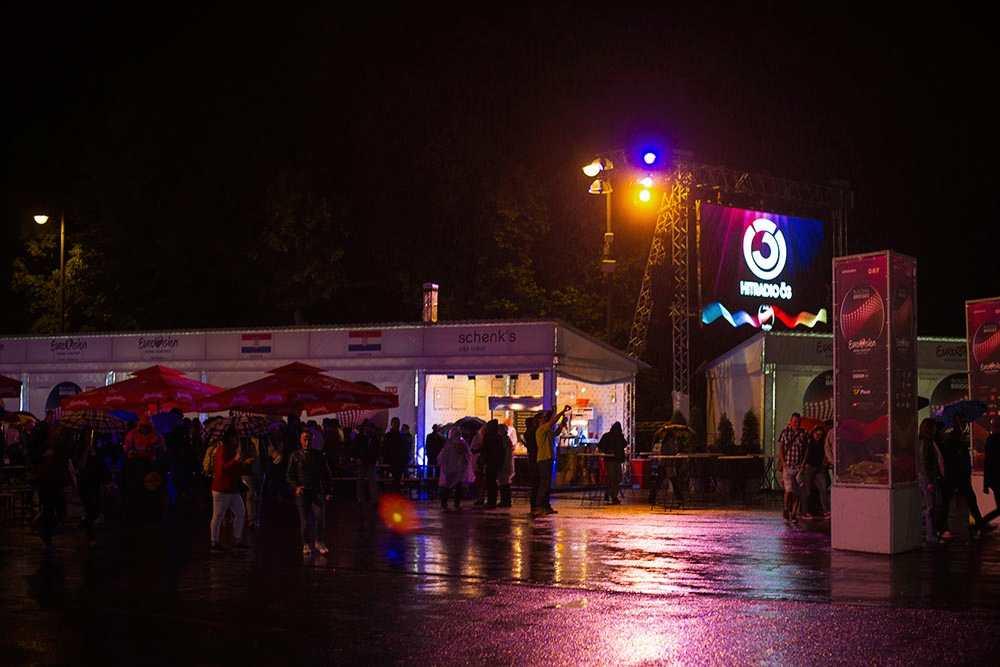 esc, vienna, eurovision, eurovision village, rathausplatz, vienn,a public viewing