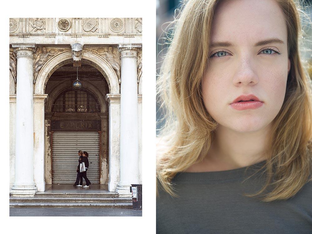 venezia, italy, spring, portrait