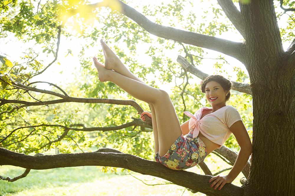 midsummer, summer, goldstück vienna, lena, ferman ab, vintage, fashion, pin up, girl, fun
