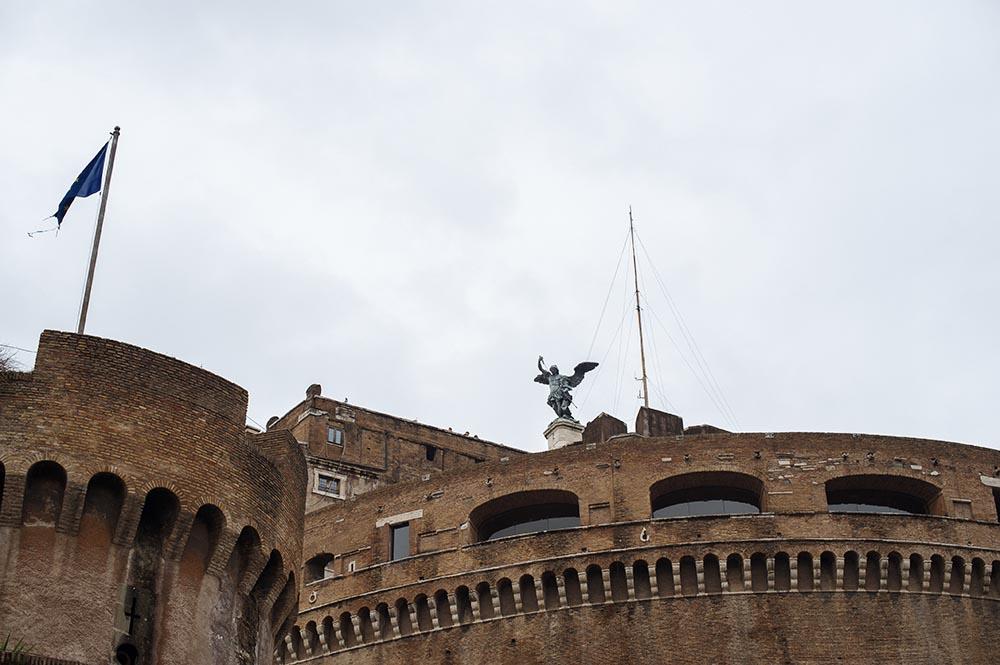 rome, italy, angel