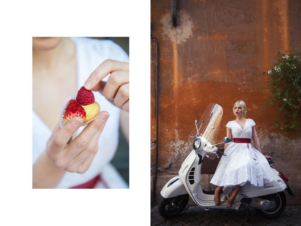 rome, italy, irina hofer, miss alice monster, spring, summer, fashion, roman holiday, vintage inspired