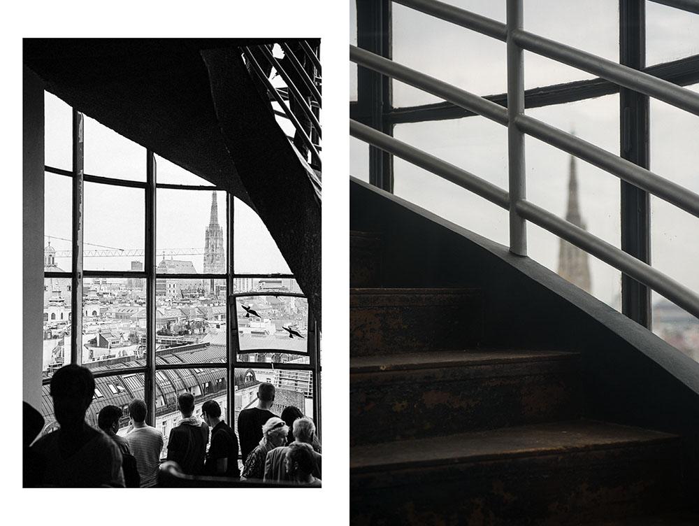 vienna, open house vienna, hochhaus herrengasse, view, city, rooftops