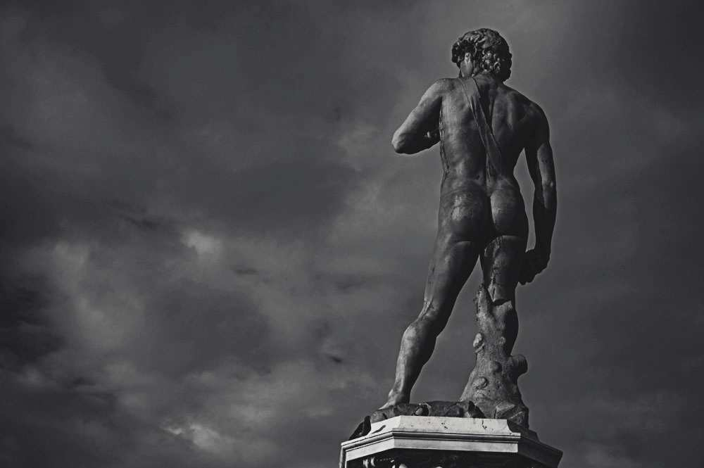 florence, italy, view, michelangelo, piazzale, panorama,