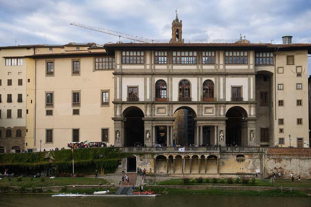tuscany, arno, river, florence, bridges, autumn