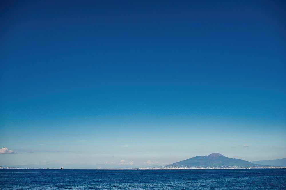 capri, italy, sea, mare, blue, turquiose, summer, october, vesuvio