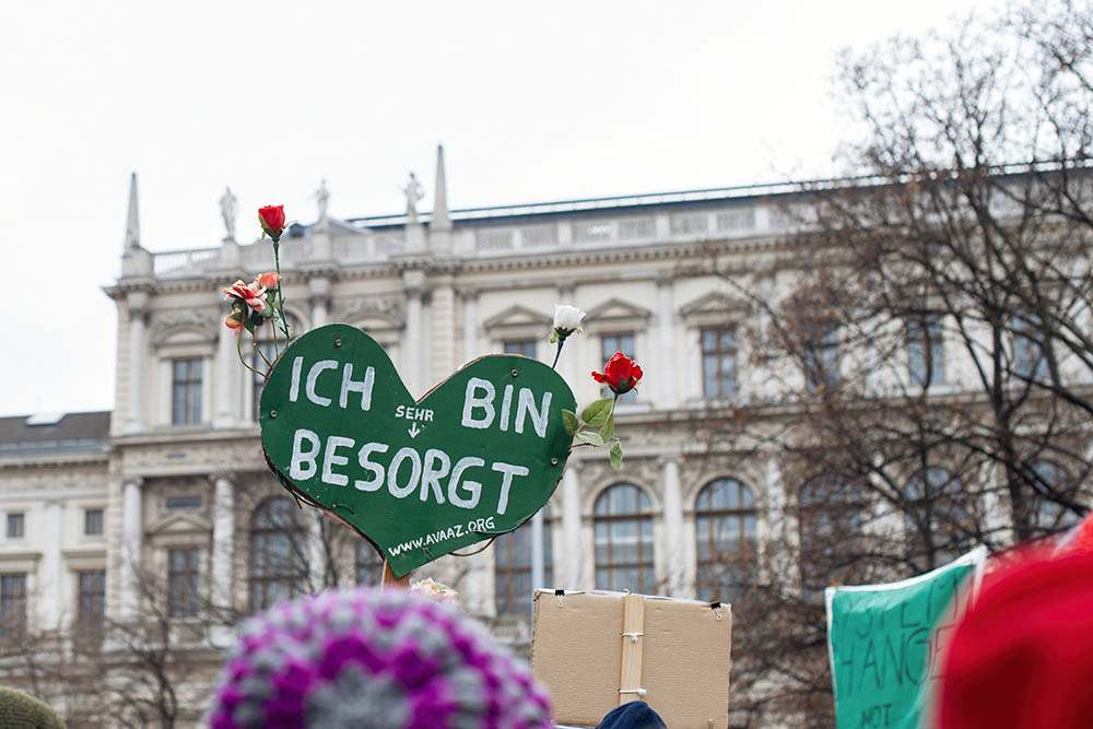 climatemarch, peoplemarch, change the system not the climate, vienna, demonstration, planet earth