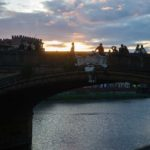 Sunset over Ponte Vecchio